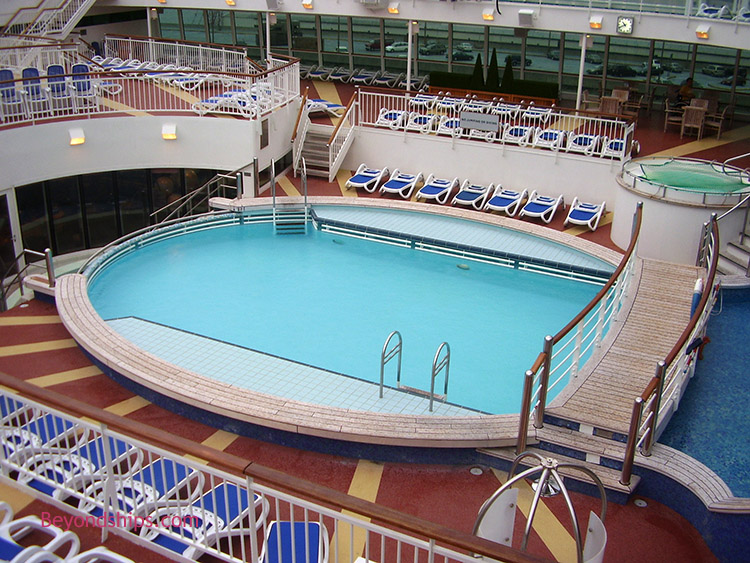 Aurora p o cruises photo tour and commentary page 2 - Riviera pool ...