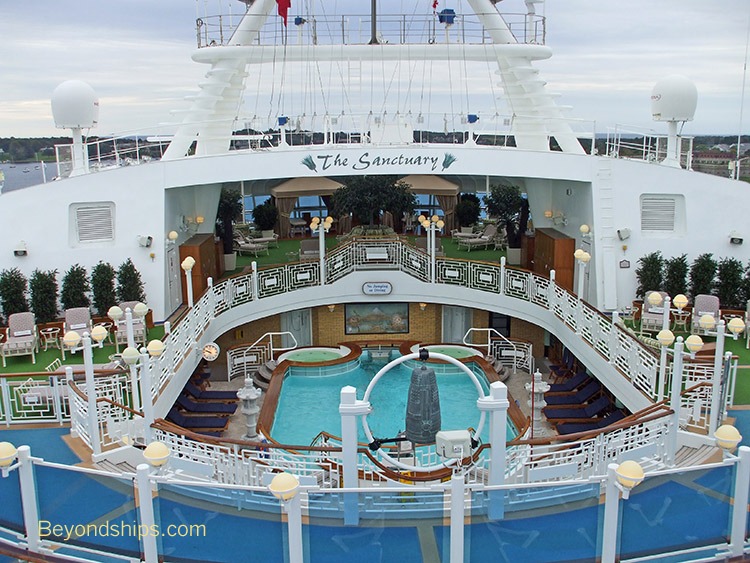 Used Salon Chairs >> Caribbean Princess - Photo Tour and Commentary page 2