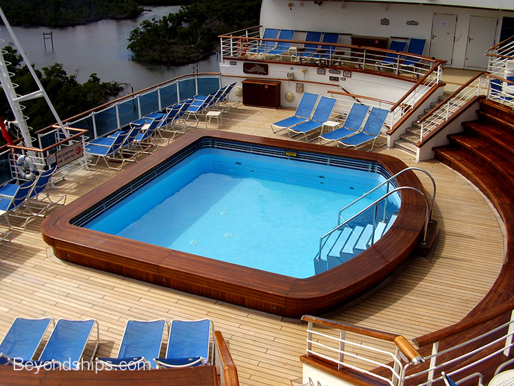 Terrace Pools emerald princess - cruise ship photo tour and commentary page 2