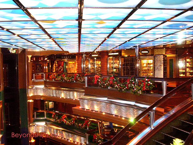 Carnival Glory Photo And Commentary Tour Page - Cruise ship shops