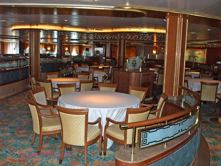 Caribbean princess photo tour and commentary page 5 - Islands dining room ...