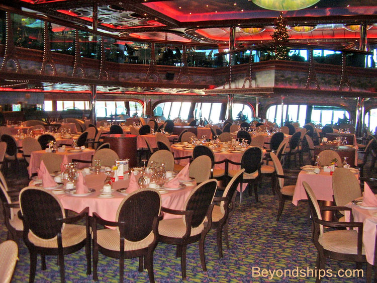 Carnival Conquest Main Dining Room