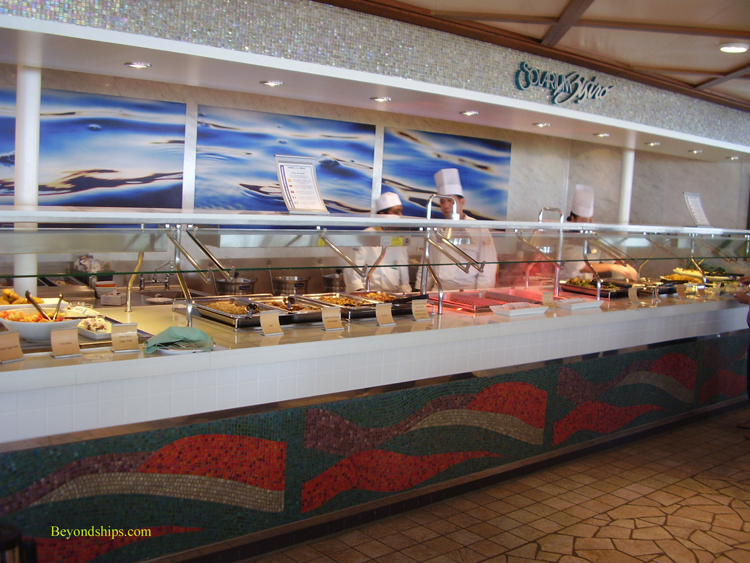 Oasis Of The Seas Photo Tour And Commentary Casual Dining
