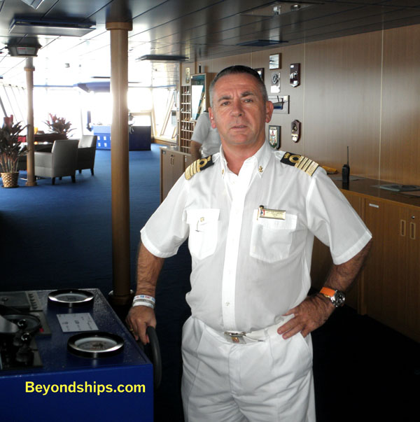 Carnival Dream  An Interview With Captain Carlo Queriolo
