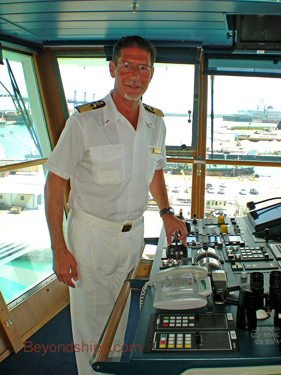 Carnival Pride An Interview With Captain Alessandro Galotto