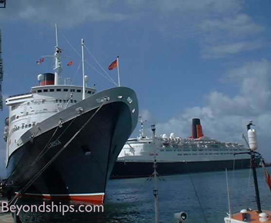 Queen Mary Interview With Captain Christoher Wells Continued - How do you become a captain of a cruise ship
