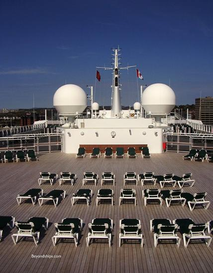Queen Mary 2 Qm2 Pools And Outdoor Facilities