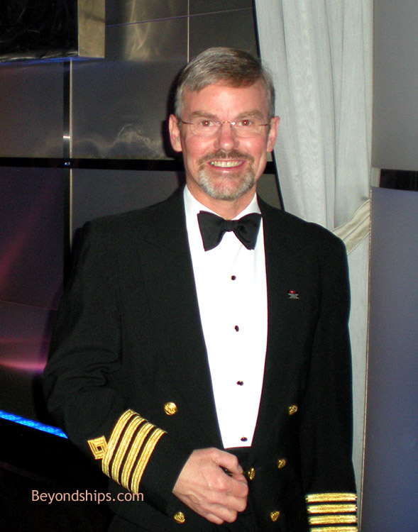 Queen Mary Interview With Staff Captain Trevor Lane - Staff on a cruise ship