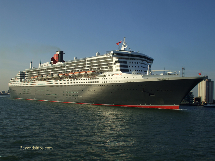 Queen Mary Profile Page - How many mph does a cruise ship go