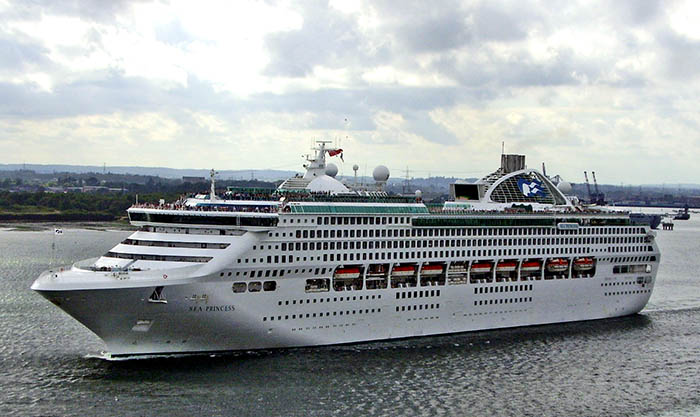 Ruby Princess Article Interview With Captain Tony Yeomans - Where is the sea princess cruise ship now