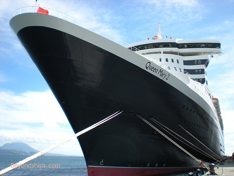 Queen Mary Interview With Staff Captain Trevor Lane - Cruise ship queen victoria present position