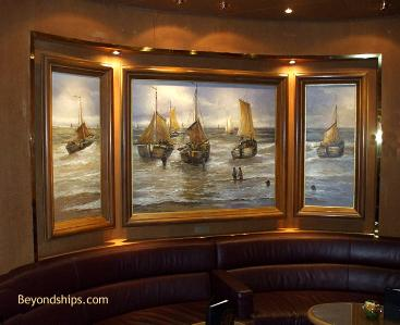 Cruise ship Eurodam art