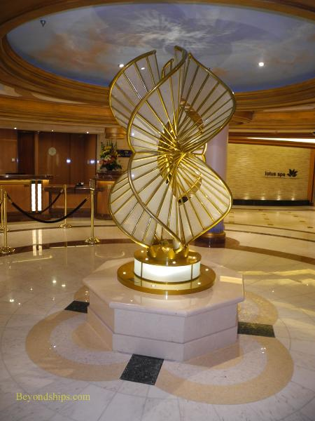 sculpture, Regal Princess, cruise ship