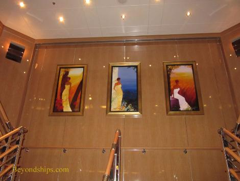 art work, Regal Princess, cruise ship
