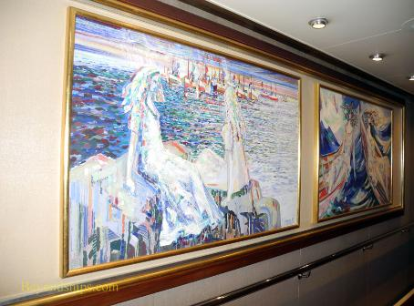 Cruise ship Legend of the Seas, art