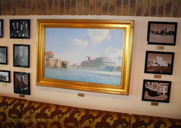Carnival Breeze cruise ship painting
