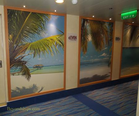 Carnival Breeze cruise ship interior