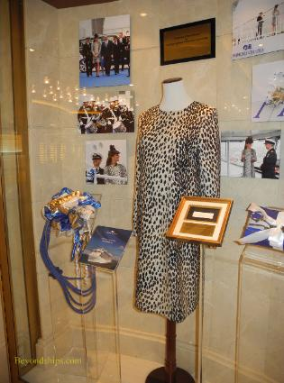 Royal Princess cruise ship, Duchess of Cambridge display
