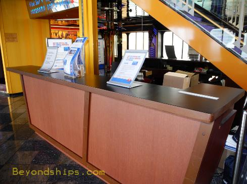 Carnival Ecstasy future cruise desk