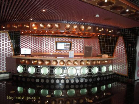 Future cruise desk, Cruise ship Carnival Splendor