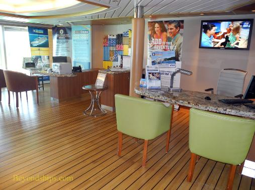 Cruise ship Legend of the Seas, Next Cruise office