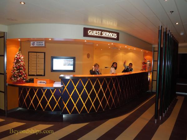 Carnival Breeze cruise ship Guest Services