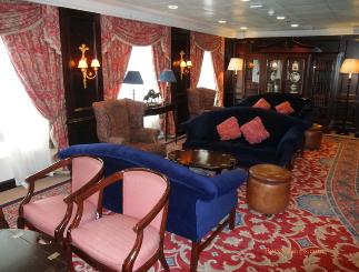 Ocean Princess cruise ship interior