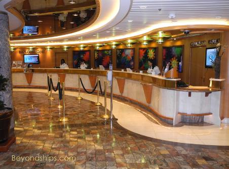 Liberty of the Seas guest services