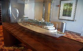 Cruise ship Legend of the Seas, ship model