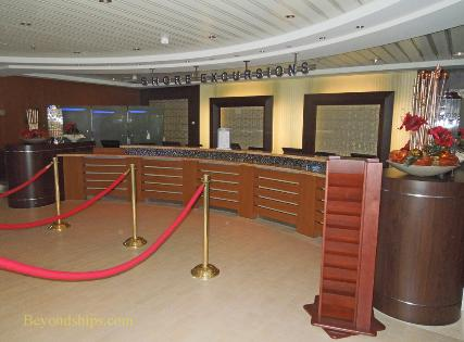 Celebrity Reflection cruise ship office