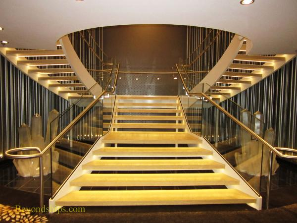 Quantum of the Seas, staircase