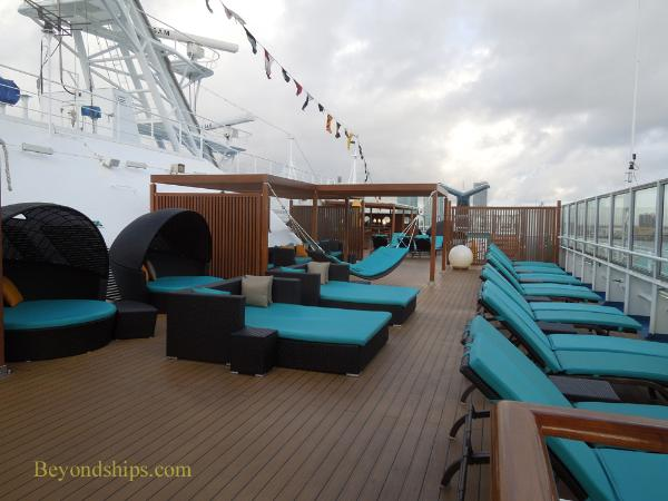Carnival Breeze cruise ship serenity