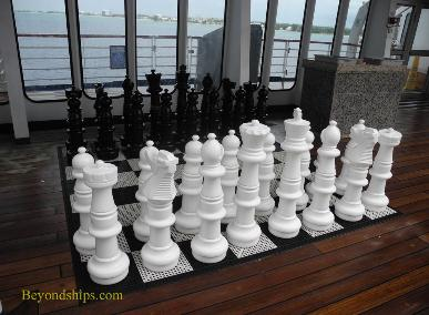 Cruise ship Carnival Paradise chess