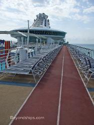 jogging track cruise ship Independence of the Seas