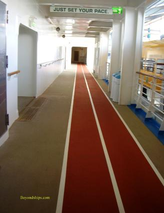 Oasis of the Seas jogging track