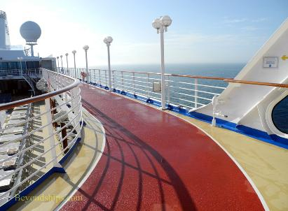 Cruise ship Ocean Princess sports