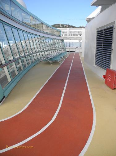 Vision of the Seas, jogging