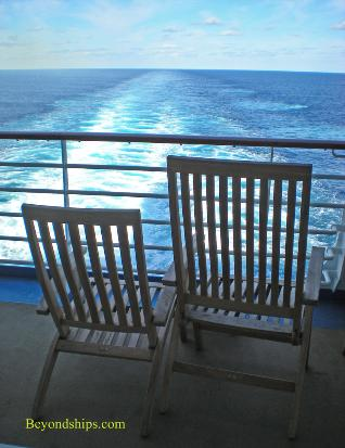 Oasis of the Seas chairs