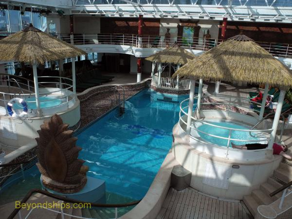 Coral Princess Lotus Pool area
