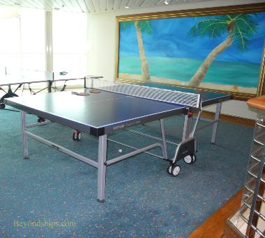 Vision of the Seas, table tennis