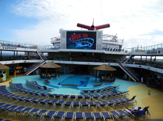 Carnival Breeze cruise ship pool
