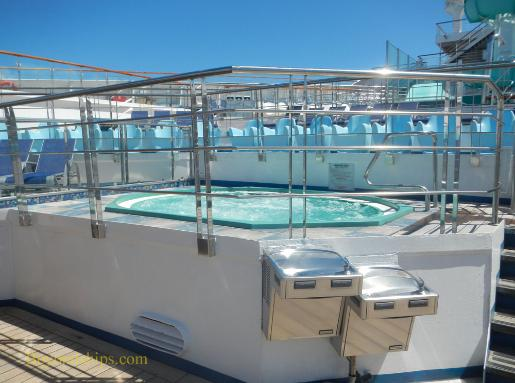 Carnival Liberty hot tub