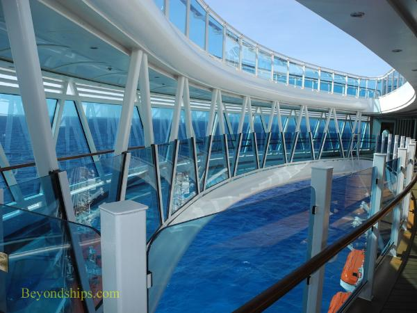 Seawalk, cruise ship Regal Princess