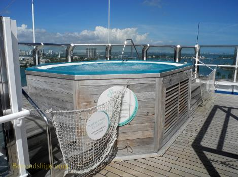 Carnival Liberty Serenity hot tub