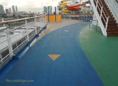 Carnival Breeze cruise ship sports
