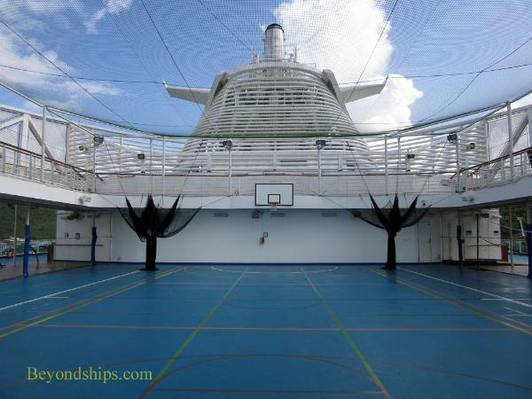 Center Court, cruise ship Regal Princess