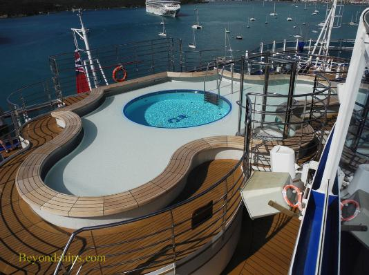 cruise ship Regal Princess, Terrace pool