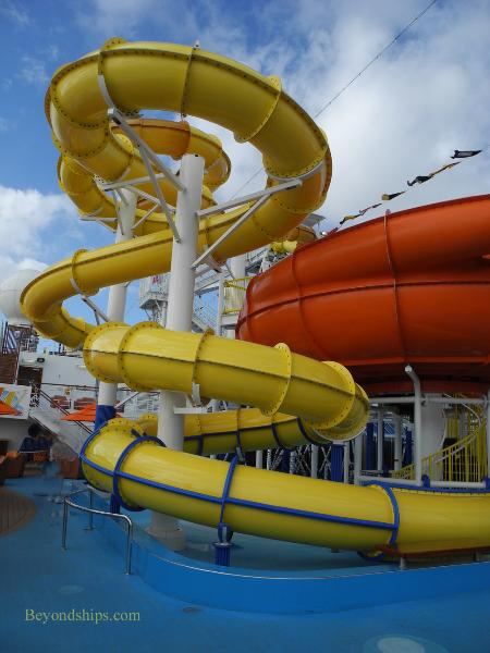 Carnival Breeze cruise ship Carnival Waterworks