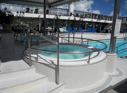 Norwegian Sun cruise ship open decks
