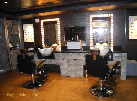 Norwegian Breakaway cruise ship, spa, salon